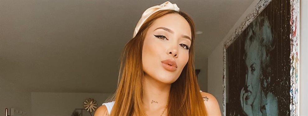La youtuber Luisa Fernanda W manda un mensaje a su ahora novio Pipe Bueno al quitarse la chaqueta y dejar ver la ropa interior que lleva debajo de ella