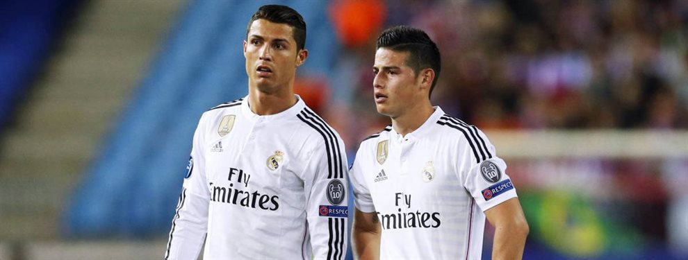 La Juventus de Turín de Cristiano Ronaldo se quiere llevar a James Rodríguez y ofrece a Bentancur a cambio