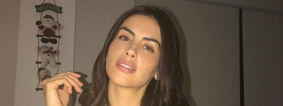 La presentadora y modelo Jessica Cediel ha desviado la polémica de los Premios LAMA con un vídeo que apenas se ve pero se nota que su retaguardia es mayor.
