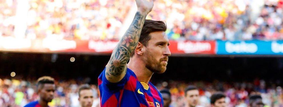 Hoy la cosa está que arde y hay alguien que se la juega a todo o nada. Messi probará su valía esta noche: El club catalán ya calienta motores para hoy