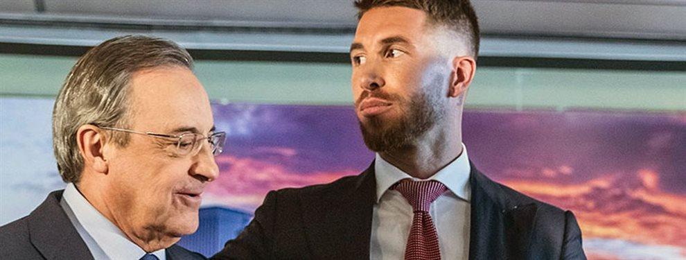 Florentino Pérez le ha prometido la renovación a Sergio Ramos si consiguen algún título