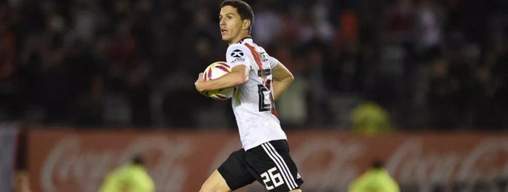 Eduardo Coudet tendría a su primer futbolista apuntado para comenzar a reforzar al Inter de Porto Alegre.