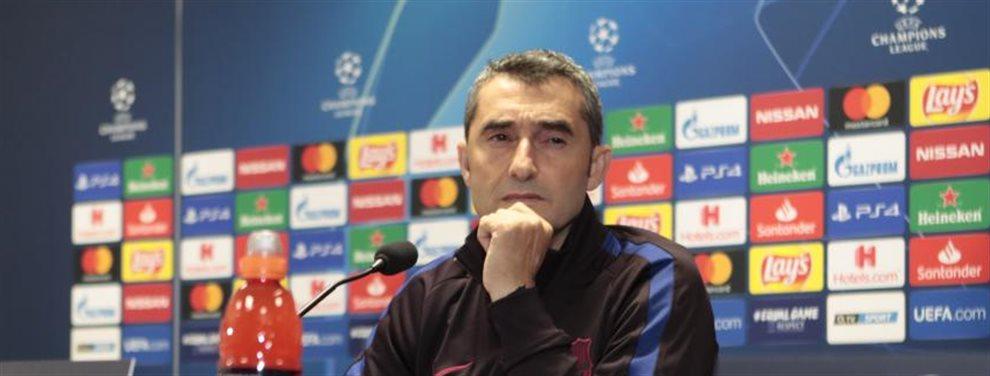 Valverde no puede aguantar otro fracaso y exige que le fichen a dos jugadores para el mercado de invierno. Tiene muy claro lo que quiere y a quién