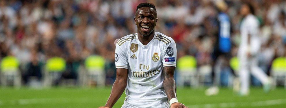 El Real Madrid ha tasado a Vinicius Junior, lo que ha atraído el interés de varios clubes