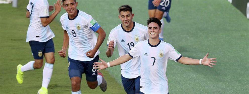 La Selección Argentina Sub 17 se enfrenta con Paraguay buscando un lugar en los cuartos de final del Mundial