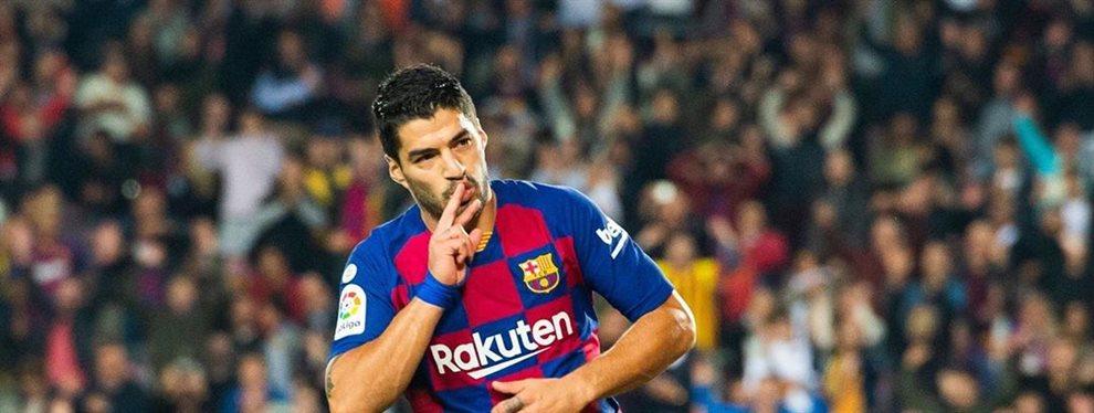 Luis Suárez lo sabe, es el único que tiene la respuesta a la gran pregunta que hay en el vestuario culé: Cuando se enteren los demás no va a gustar nada