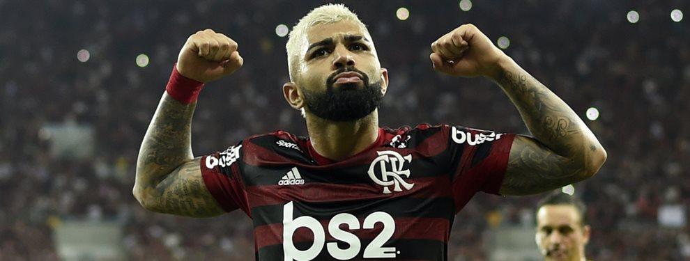 Gabriel Barbosa deberá definirse entre continuar en el Flamengo o volver a probar suerte en Europa.
