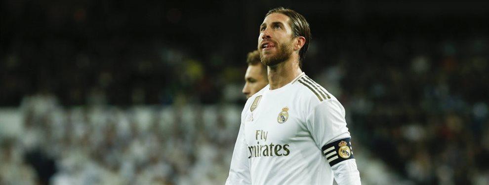 Sergio Ramos tapa una pelea bestial en el Real Madrid (y sale a la luz)