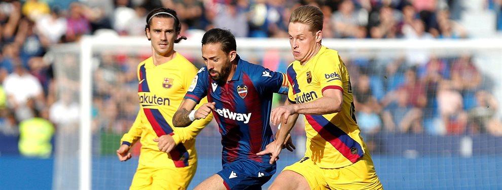 El Barça ha colgado el cartel de transferible a Samuel Umtiti y Ousmane Dembélé