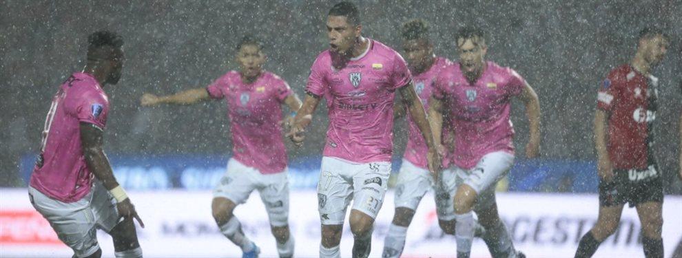 Colón e Independiente del Valle se enfrentaron en la final de la Copa Sudamericana.