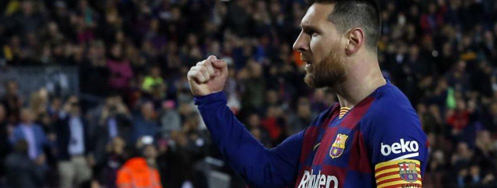 Messi ve como su etapa como jugador llega a su fin y en breve tiene que negociar la que será su última renovación. El presidente tiene lista su oferta...