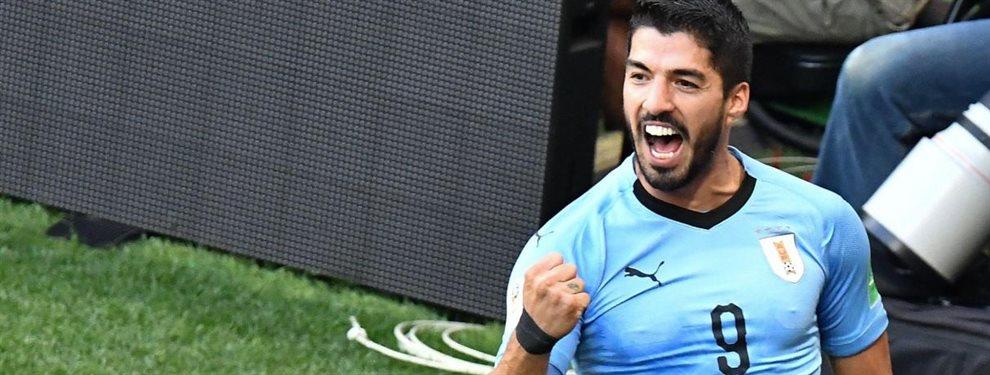 Salta la noticia del fin de semana: un compañero de selección de Luis Suarez desvela el equipo en el que jugará el killer charrua tras su paso por el Barça