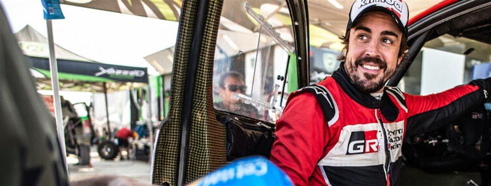 Fernando Alonso ya obtiene grandes resultados compitiendo en un raid en tierras en las que dentro de unas semanas tendrá lugar el Dakar 2020. Alonso listo