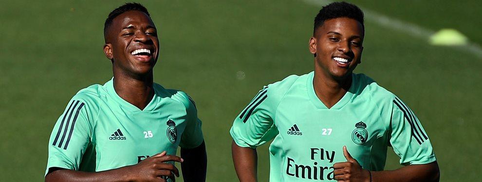 Vinicius Junior puede dejar el Real Madrid y acabar en el Liverpool a cambio de Salah