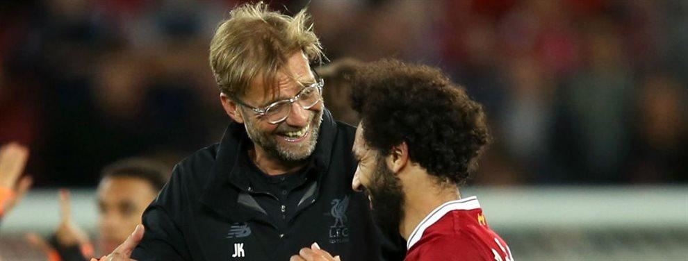 Mohamed Salah ha dejado claro al Liverpool y a Jürgen Klopp que espera una renovación millonaria