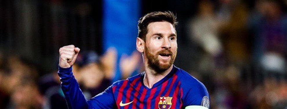 El equipo tiene problemas en el medio del campo y van a recibir la ayuda de un ex jugador que es leyenda. Messi no puede creerlo, está encantado.