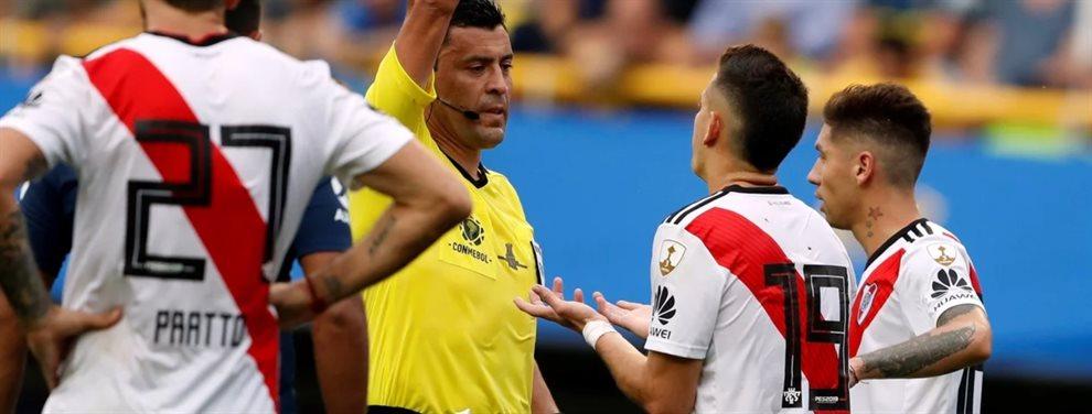 El árbitro chileno, Roberto Tobar, fue designado para impartir justicia en la final de la Copa Libertadores.