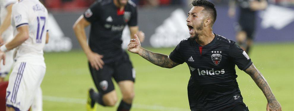Luciano Acosta, figura del DC United, expresó que desea regresar a Boca y que posee una oferta de Inglaterra.