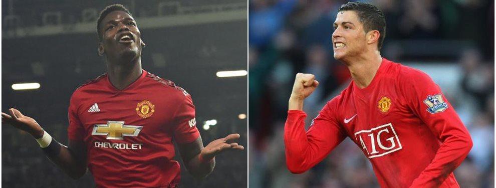 Cristiano Ronaldo se gana otra leyenda de enemigo en Italia mientras crece la idea de plantear un trueque al United por Paul Pogba ¡y los ingleses aceptan!