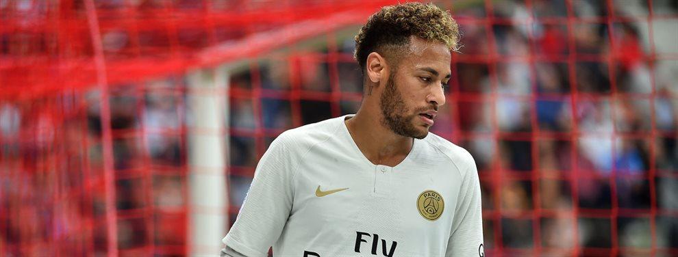 Neymar Junior está decidido a dejar el Paris Saint-Germain y se ha ofrecido al Real Madrid