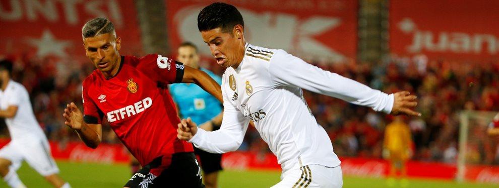 ¡Pelea con James Rodríguez! Y de las gordas. Última hora en el Real Madrid