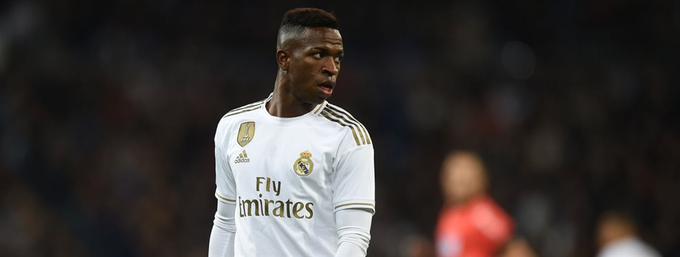 Vinicius Junior ha pedido cita a Florentino Pérez para renovar en el Real Madrid