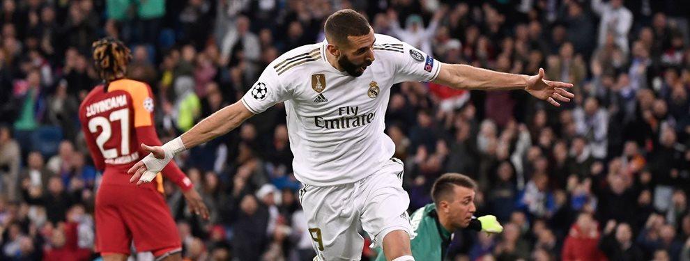Zinedine Zidane ha dado un toque de atención a Eden Hazard para que mejore sus números