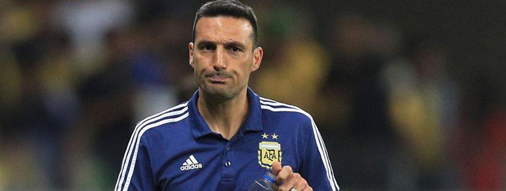Los dos antecedentes negativos de Lionel Scaloni enfrentando a Brasil con la Selección Argentina.