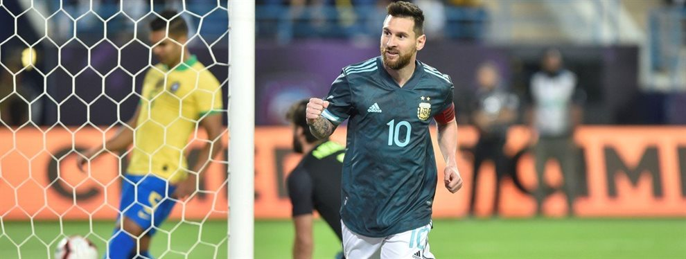 En Arabia Saudita, la Selección Argentina derrotó 1-0 a Brasil con gol de Lionel Messi.