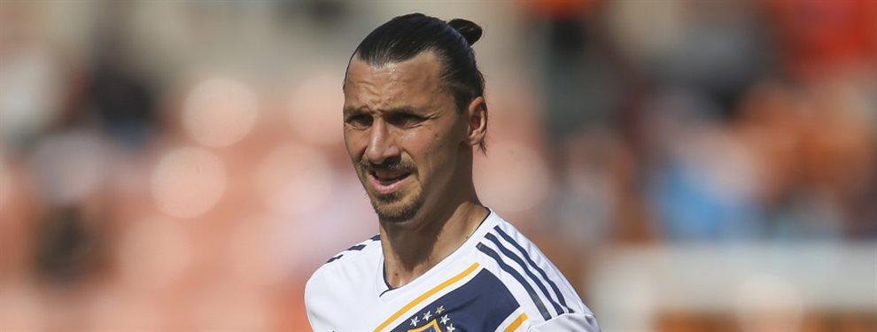 El sueco Zlatan Ibrahimovic no pierde su esencia de crack a pesar de tener 38 años de edad.