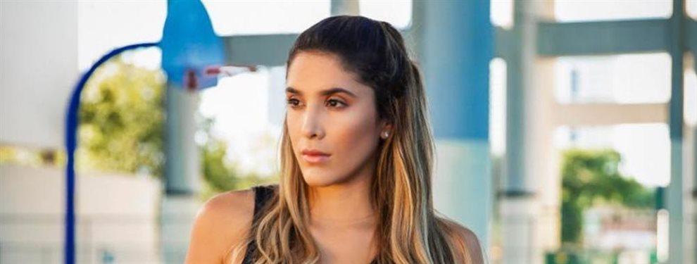 No es por gracia divina que la ex voleibolista de playa, Daniela Ospina, tenga una figura envidiable.