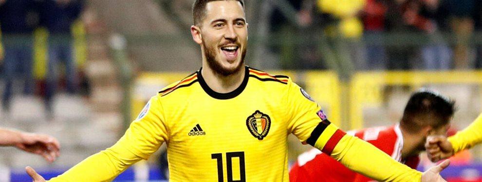 Sorpresón en el Real Madrid. Enfado tremendo de Sergio Ramos y Zinedine Zidane con Hazard. El belga abandonará su puesto en Enero y ya tiene nuevo sitio
