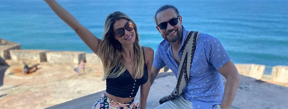 En una de las escapadas románticas de Cristina Hurtado y Josse Narvaez han pillado al marido de la modelo abrazándola, agarrándola fuerte de la retaguardia