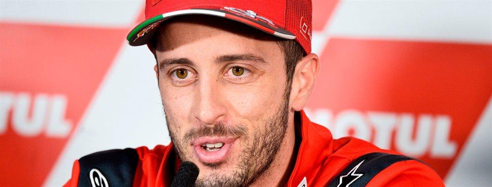 Andrea Dovizioso deja atónito a todo el mundo con esta revelación ¡Lo deja por imposible y dice adiós! Marc Márquez alucina y le sale un miedo desconocido