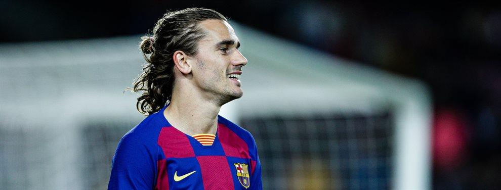 Antoine Griezmann puede dejar el Barça y marcharse al PSG, acercando así a Kylian Mbappé