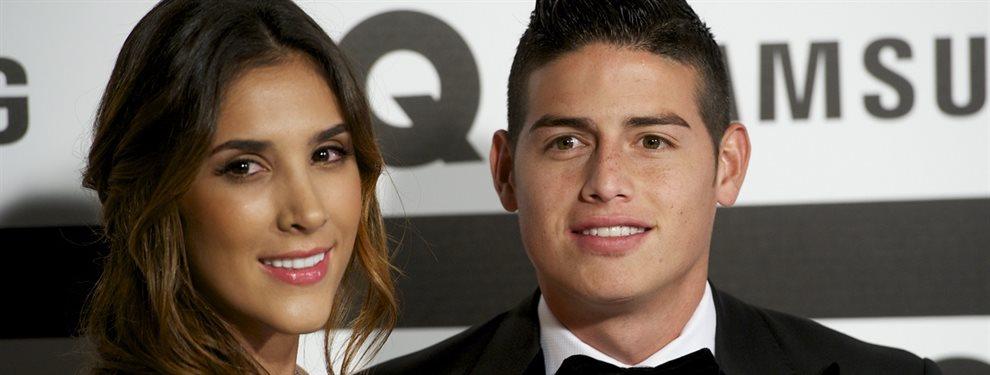 Daniela Ospina y James Rodríguez fueron vistos juntos en Miami, y junto a su hija Salomé