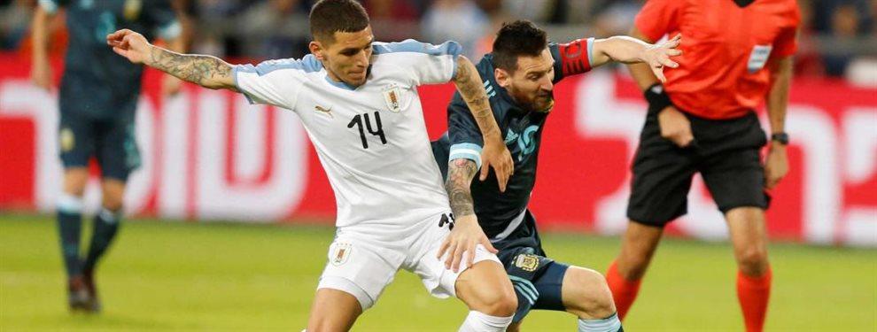 La Selección Argentina se enfrentó con Uruguay en el último partido de la gira de amistosos.