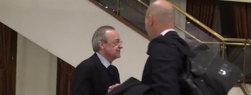Una nueva amenaza interna pone en peligro la armonía lograda por el Madrid en las ultimas jornadas: ¡Ojo al lío que tiene mosqueados a Florentino y 'Zizou'