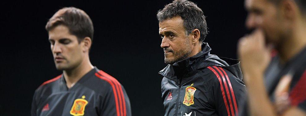 Luego de renunciar por el estado de salud de su hija, Luis Enrique regresó a la selección de España.