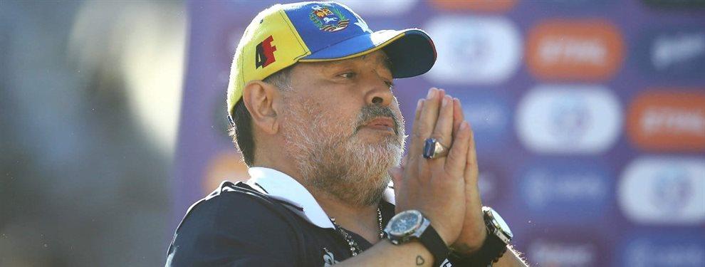 Diego Armando Maradona renunció a la dirección técnica de Gimnasia de La Plata tras ocho partidos.