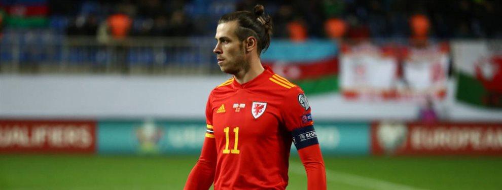 Gareth Bale sacó una bandera con un mensaje muy polémico que ha hartado al Real Madrid