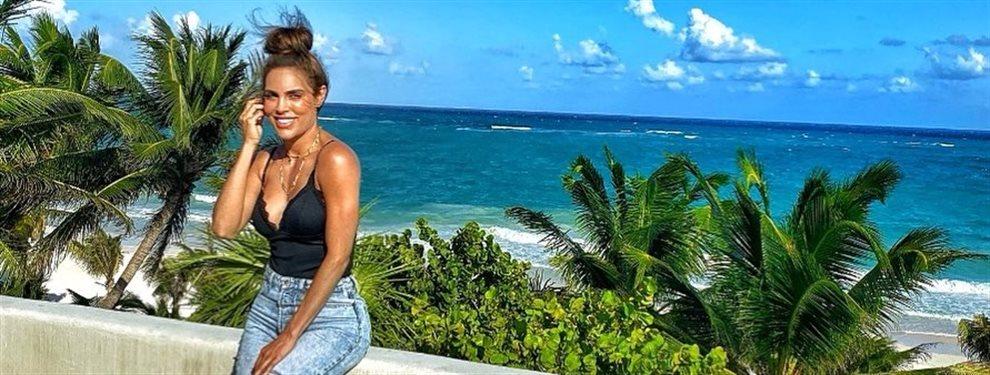 Con eso de que está de vacaciones eternas, Sara Corrales deja ver su colección de bikinis en la playa y los efectos del ejercicio a mansalva en su anatomía
