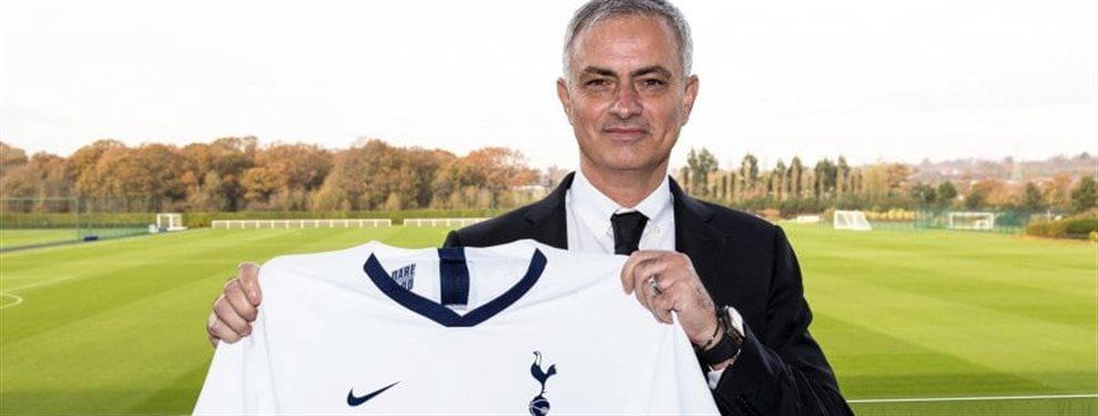 José Mourinho fue presentando de manera oficial como reemplazante de Mauricio Pochettino en Tottenham.