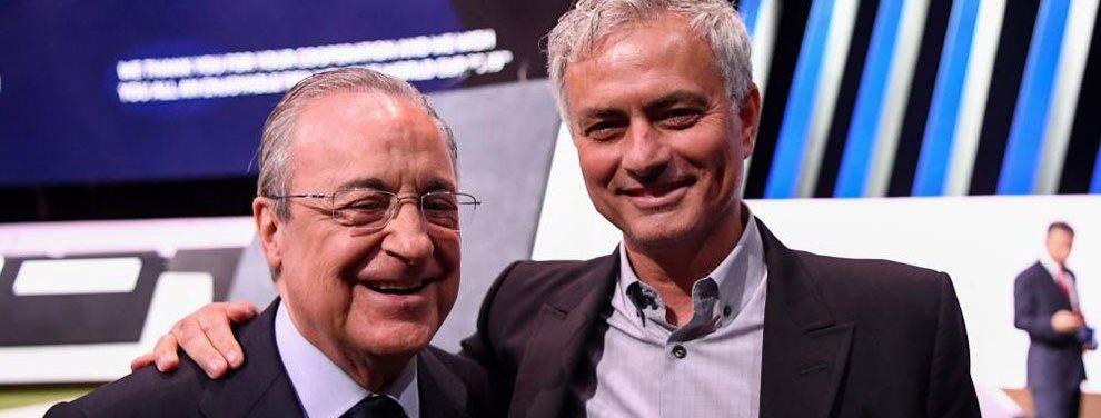 José Mourinho ya hace de las suyas: ¡Se alía con Florentino Pérez y le hace un favor millonario desde Londres al Madrid con este jugador ¡Vaya bombazo!