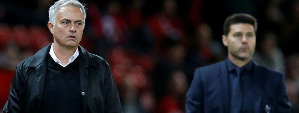 En una semana de locura para el Tottenham la última de todas es que Jose Mourinho y Maurizio Pochettino entrenaran juntos en el club londinés.¡¡Increíble!!