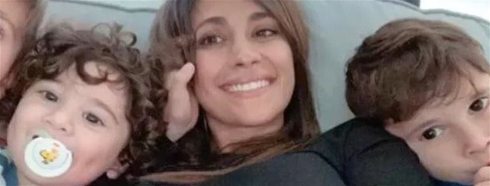 La última foto de la argentina Antonella Roccuzzo deja a todos alucinados. Al primero al propio Messi que no se esperaba la foto de su mujer con los tres..