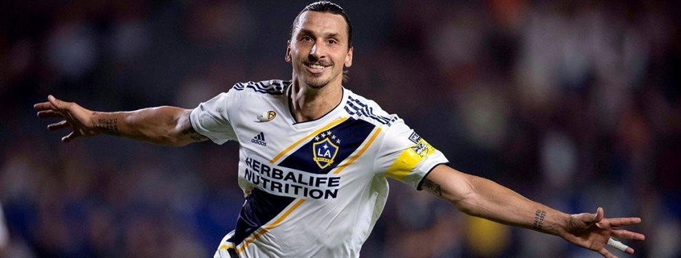 Milan le realizó una propuesta millonaria a Zlatan Ibrahimovic, quien decidió rechazarla.