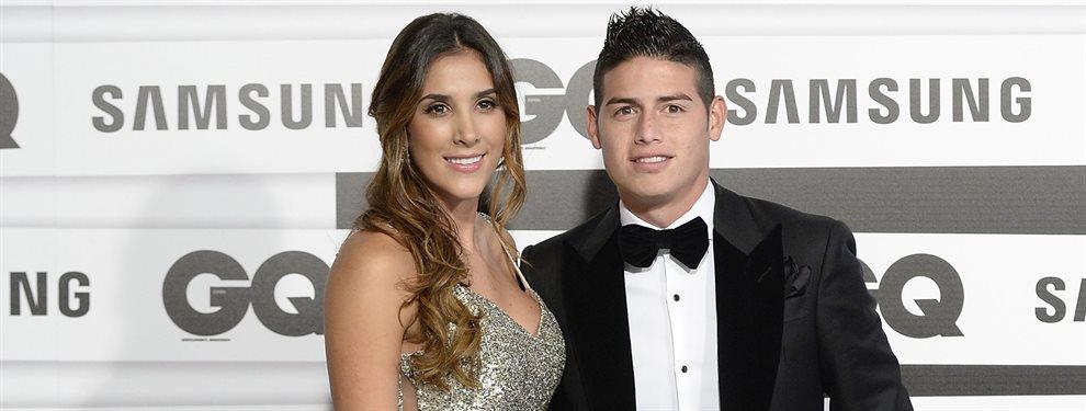 Daniela Ospina ha confirmado donde jugará su ex marido, James Rodríguez, a partir de enero
