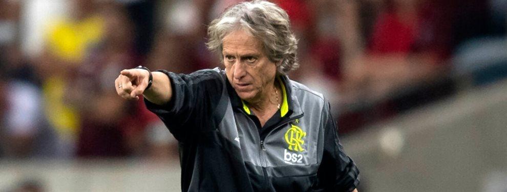 El entrenador del Flamengo, Jorge Jesus, tomó una medida para ahuyentar a los espías de los entrenamientos.
