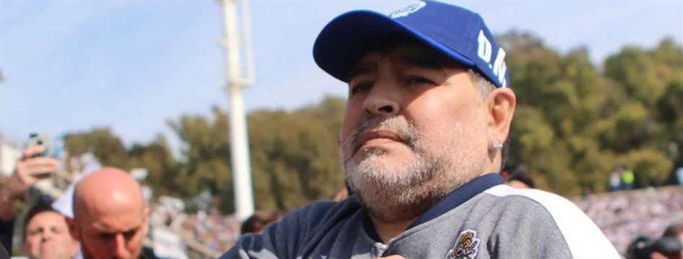 Diego Armando Maradona podría regresar a la dirección técnica de Gimnasia de La Plata.
